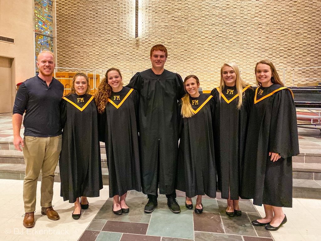 Simpson College Honor Choir participants