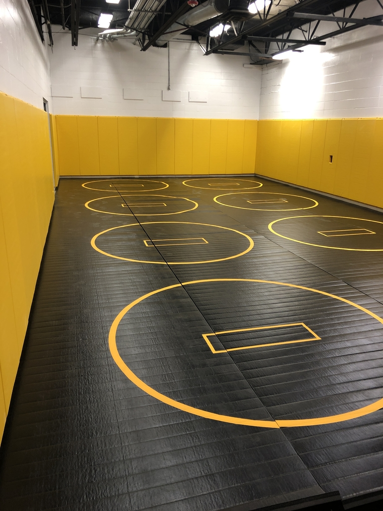 Wrestling room addition.