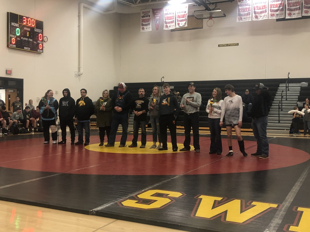 SWI Wrestling Senior Night