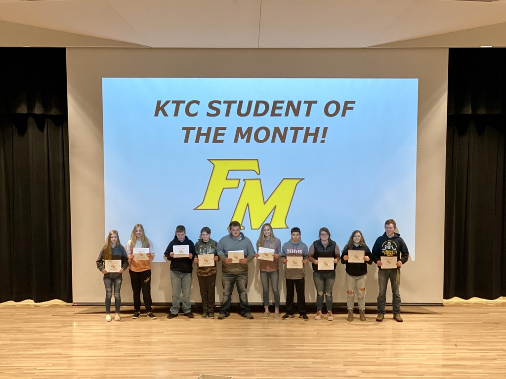 KTC students of the month